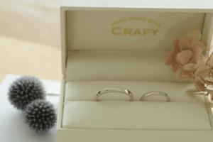ハンドメイド指輪 ペアリング 結婚指輪 手作り CRAFY 口コミ レビュー 国際恋愛