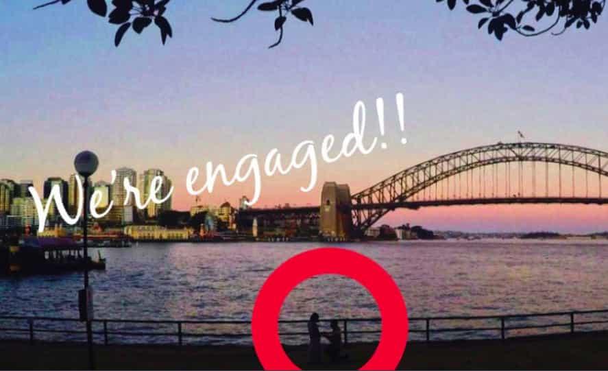 国際恋愛 婚約 プロポーズ 指輪 エンゲージメントリング